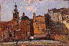 Giovanni Cavalli Torino 1865- Milano 1932 Veduta