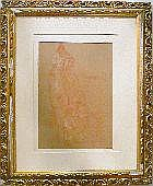 Attr. a Lorenzo Viani 1882 - 1936 Personaggi