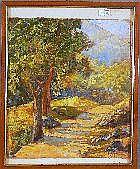Giovanni Patrone Genova 1904 - 1963 Paesaggio con