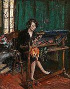 Riccardo Galli Milano 1879 - Barzio 1944 Intimità
