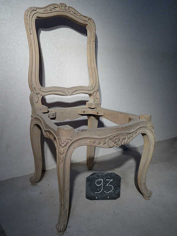 chaise style louis xv h 234 tre 224 d 233 cor sculpt 233 53 x 55 x h