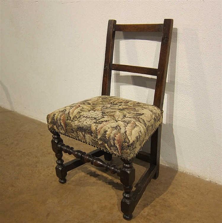 chaise style louis xiii pi 233 tement tourn 233 garniture de tapi