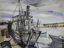 Micheline CATTY (1926) (élève d' Ossip ZADKINE (1890-1967)),