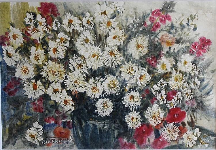 Vassili ponikarov xxe bouquet de fleurs des champs aq for Bouquet de fleurs wine