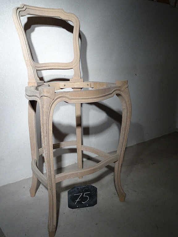 chaise 224 billard style louis xv h 234 tre 224 d 233 cor moulur 233 56