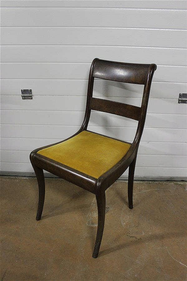 chaise volante style restauration