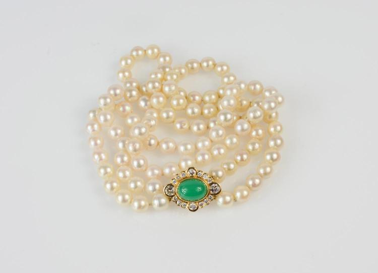 Ladies' pearl chain