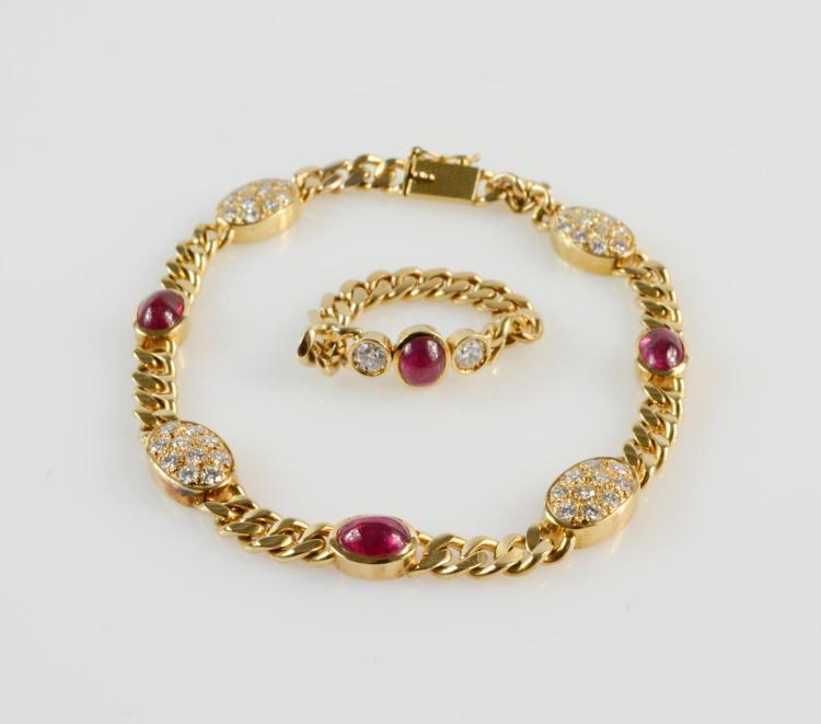 Ladies' bracelet and ring
