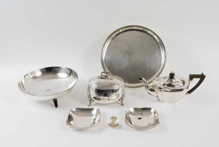 Convolute silver objects