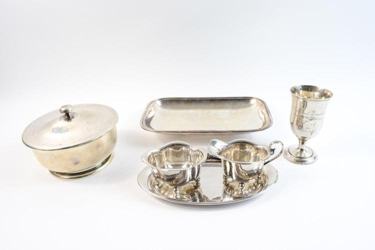 Convolute silver objects