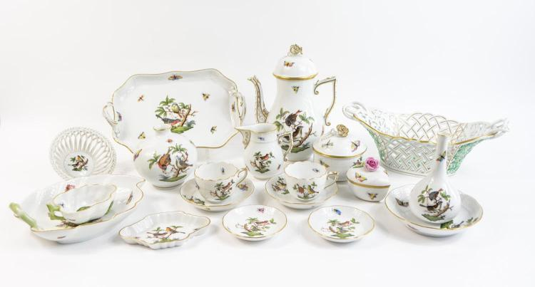 Coffeeporcelain service for 7 persons