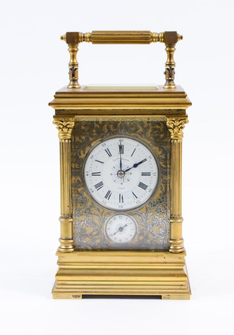 French travel alarm clock