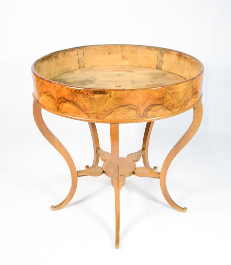 Biedermeier flower table