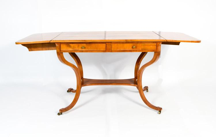 Biedermeier style salon table