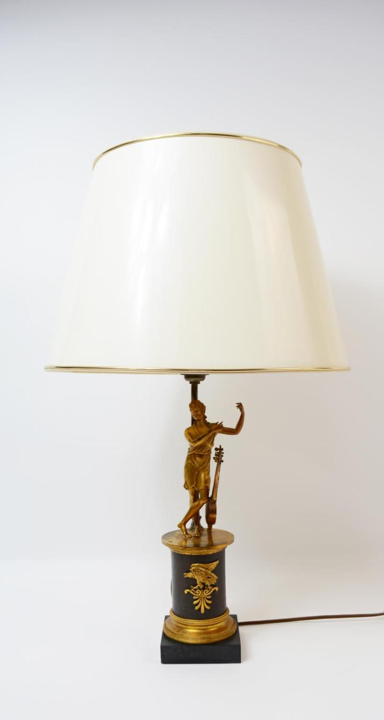 Table light in Empire style