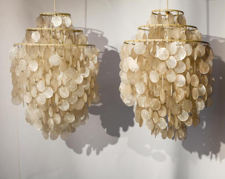 Couple shell lamps Fun 1 DM