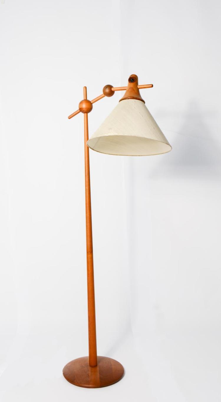 Danish standing lamp