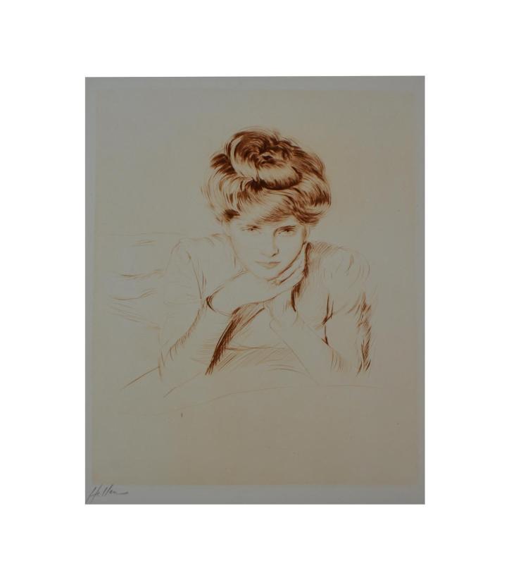 Paul C?sar Helleu (1859 Vannes - 1927 Paris)