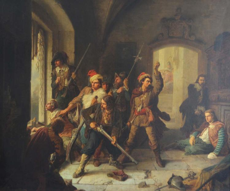 Christian Sell I (1831 Altona - 1883 Dusseldorf)