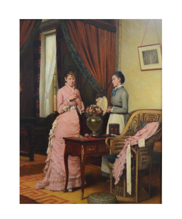 Eug?ne Benjamin Fichel (1826 Paris - 1895 ebenda)