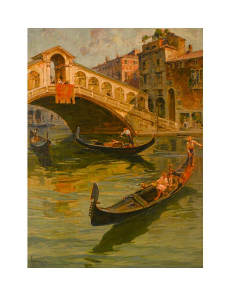 Angelo Brombo (1893 Chioggia - 1962 Venice)