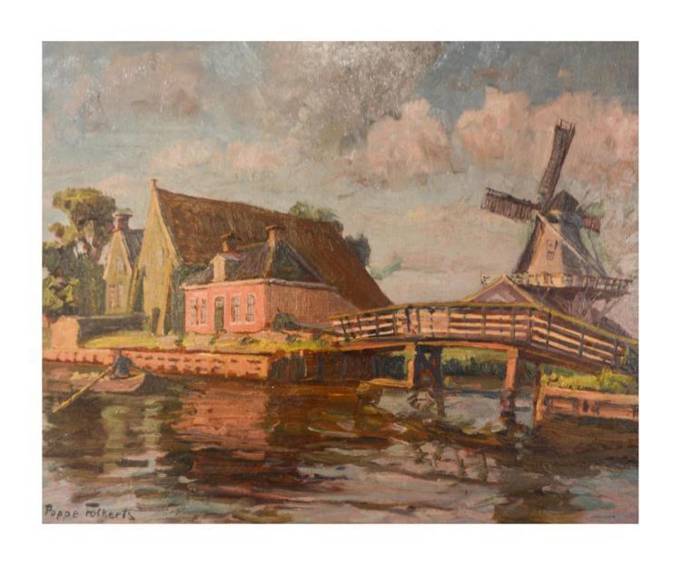 Poppe Folkerts (1875 Norderney - 1949 ebenda)
