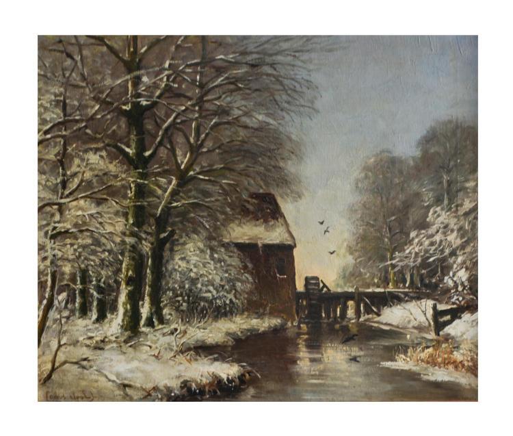 Louis Apol (1850 Den Haag - 1936 ebenda)