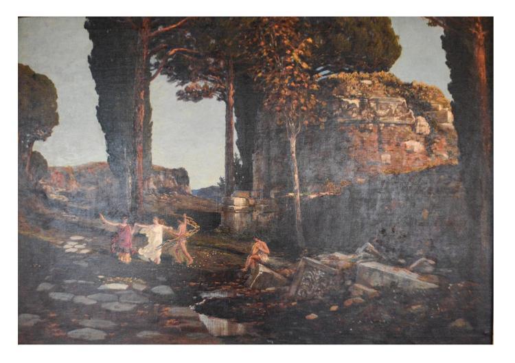 Max Roeder (1866 Monchengladbach - 1947 Rome)