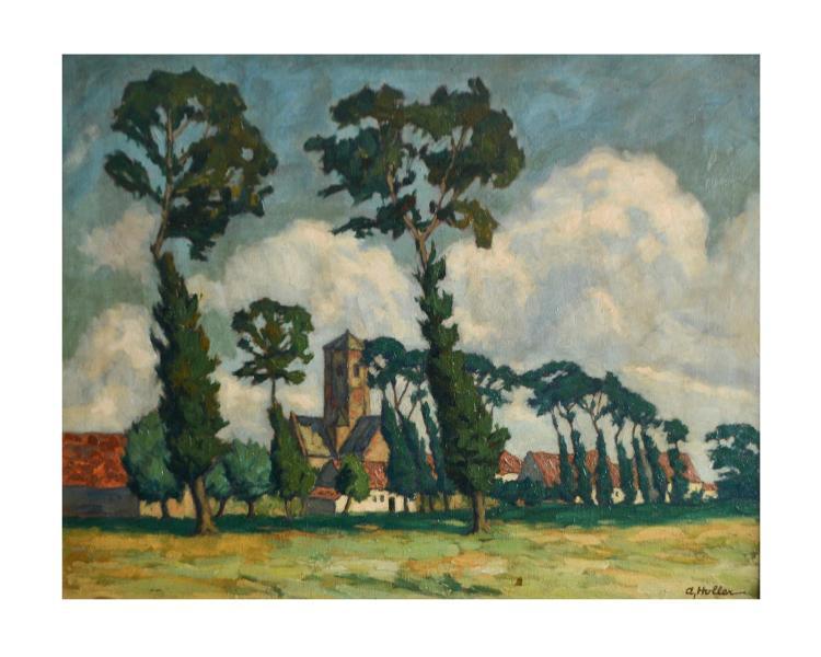 Alfred Holler (1888 Krefeld - 1954 Eupen)