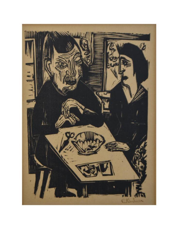 Ernst Ludwig Kirchner (1880 Aschaffenburg - 1938 Frauenkirch-Wildboden)