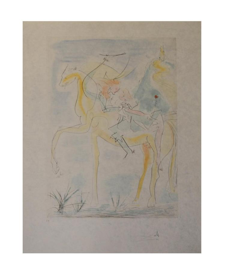 Salvador Dal? (1904 Figueres - 1989 ebenda) (F)