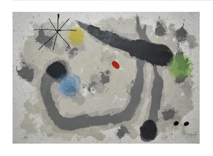 Joan Mir? (1893 Barcelona - 1983 Palma de Mallorca) (F)