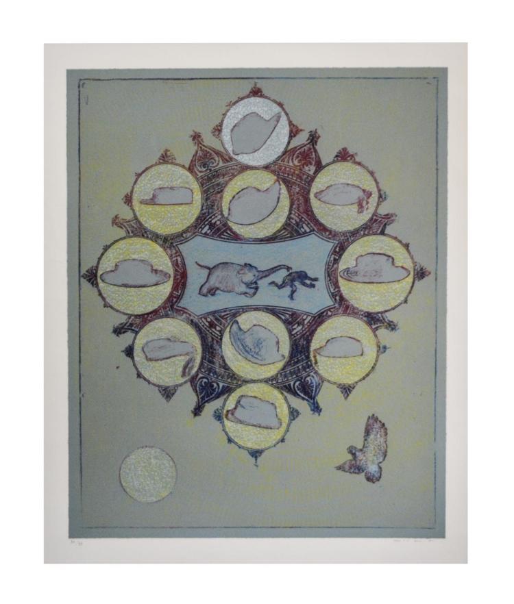 Max Ernst (1891 Br?hl - 1976 Paris) (F)