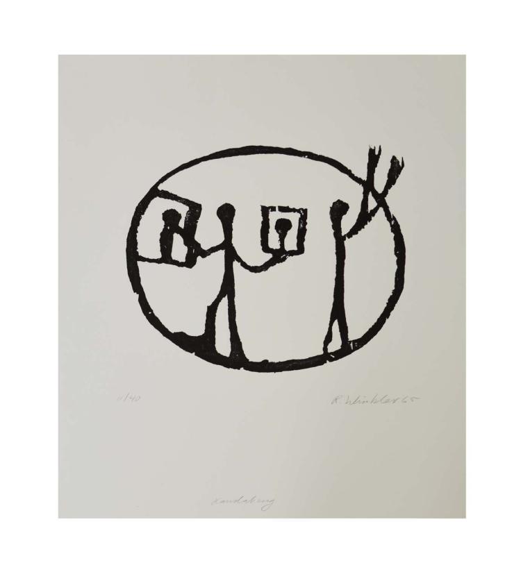 AR penck (Ralf Winkler) (1939 Dresden) (F