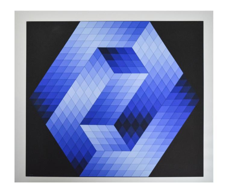 Victor Vasarely (1906 P?cs - 1997 Paris) (F)