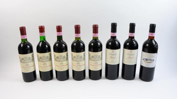 Convolute of Italian wine