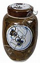 Morris, Tim (1941-1990) Jar with Lid Signed, 25cm, Tim Morris, Click for value