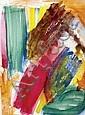 Maqhubela, Louis Khela (SA, 1939) Red Squeeze, Louis Khela Maqhubela, Click for value
