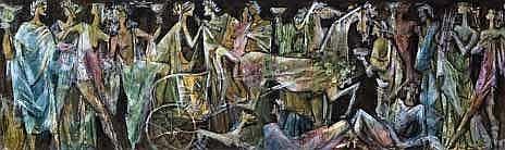 Ullman, Ernest (SA 1900 - 1975), Group of figures
