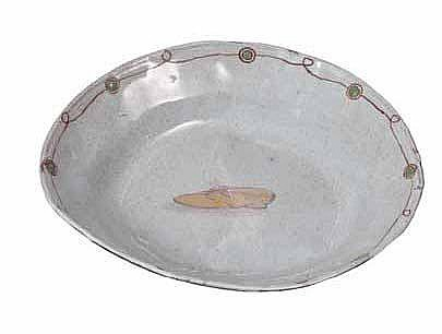 Nel, Hylton (SA 1941 - ) Shoe Ceramic plate,