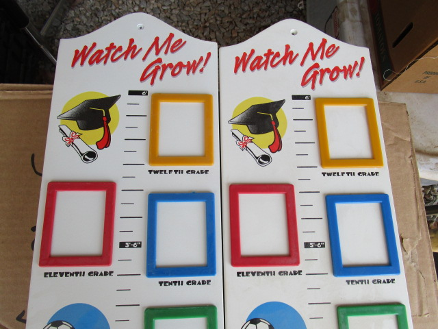 2 Watch Me Grow Frames New