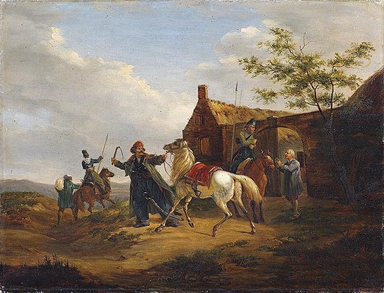 Carl Friedrich Schulz (1796-1866) Russian An