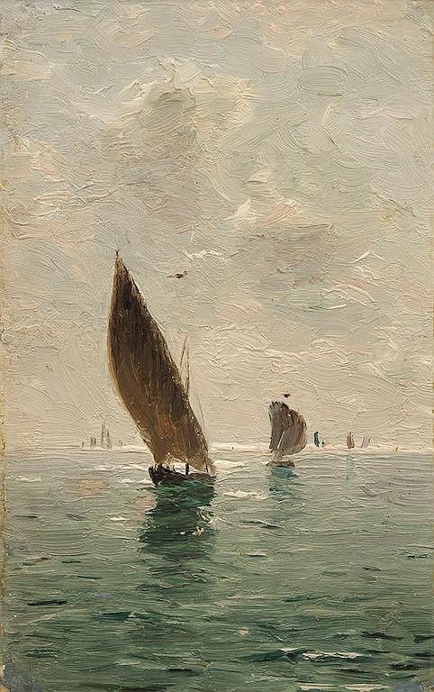 Dubovskoy Nikolay Nikanorovitch (1859-1918) Mediterranian Sea