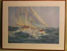 Rough Seas I signed Constance 77