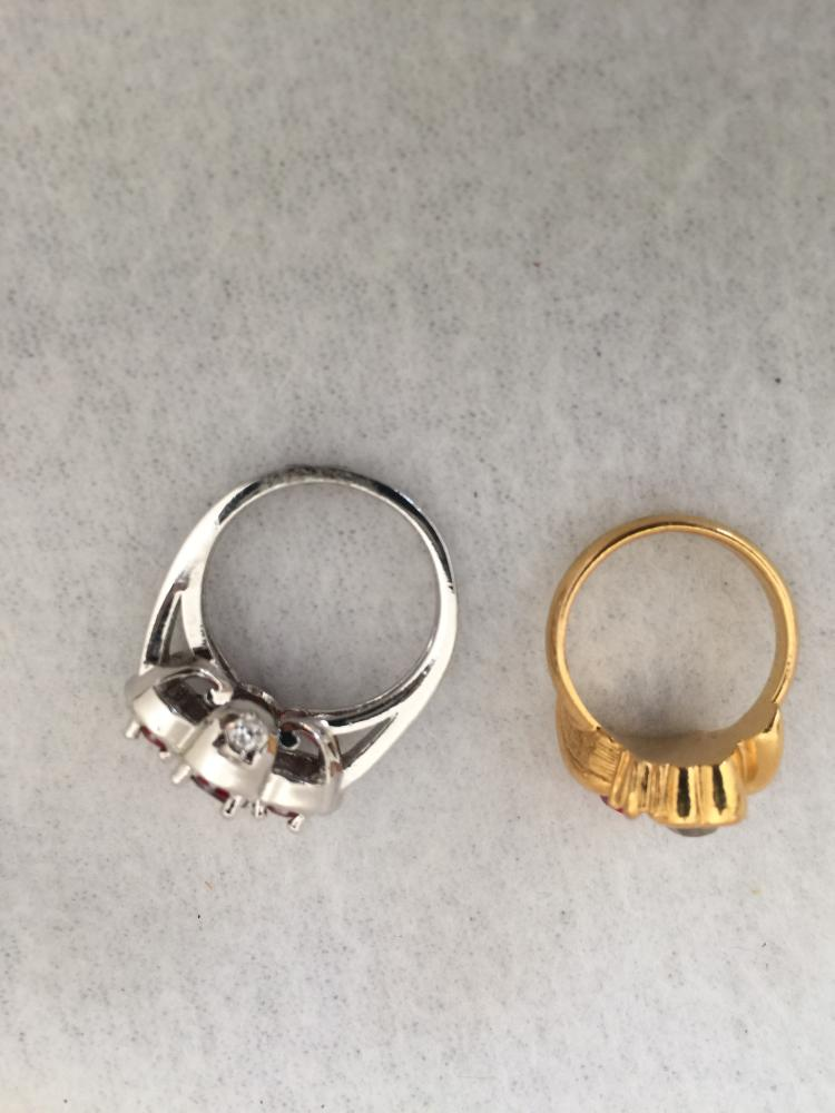 Two Custom Rings