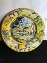 Hand Painted European Style Plate