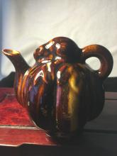 Fruit Form Tea Pot with Mouse on Top