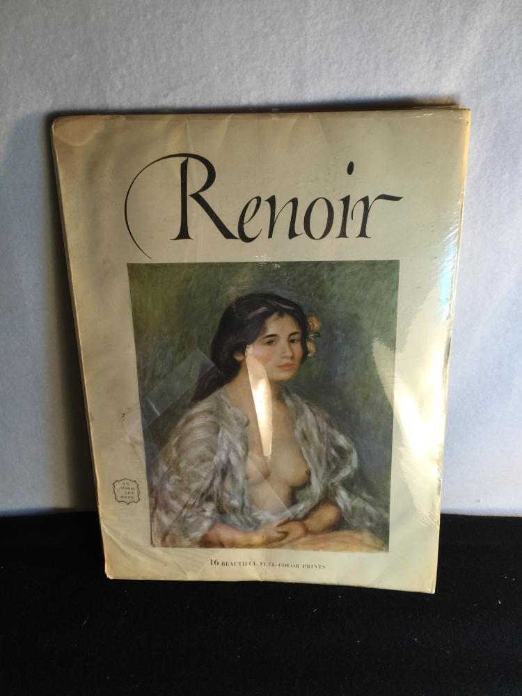 Book For Renoir's Paints