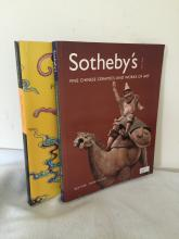 One Christhe's and One Soethby's auction catalog