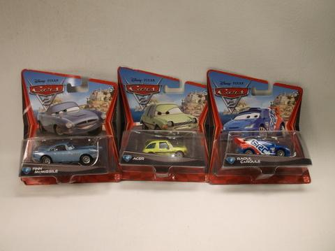 Disney Pixar Cars Movie Die Cast Car Lot Of 3 Moc Sealed